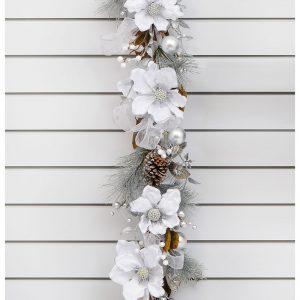 250168GL-magnolia-ribbon-garland