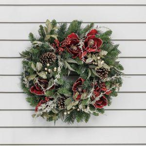 acorn-wreath