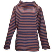Rust Stripe top