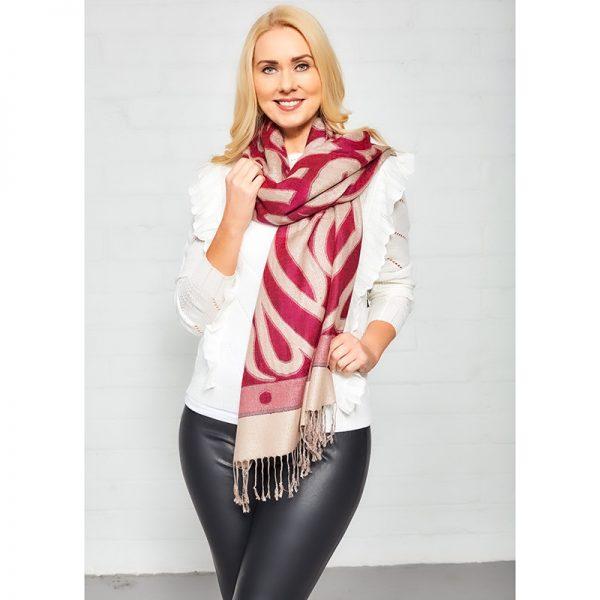 Fucshia Lifestyle shawl