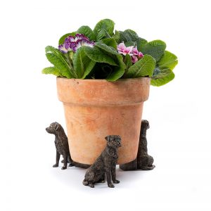 Jardinopia Potty Feet BORDER-TERRIER