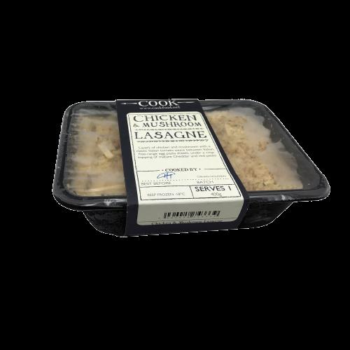 Chicken & Mushroom Lasagne pack