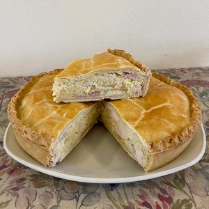 Chicken-&-leek-pie