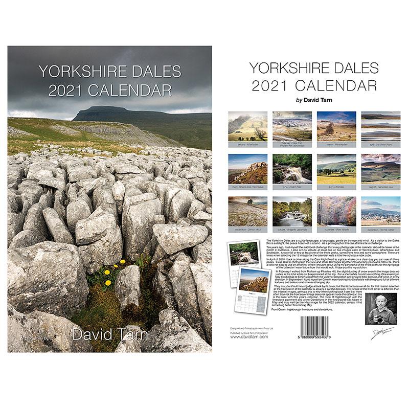Yorkshire Dales Calendar 2021 Country Harvest