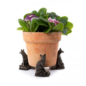 Jardinopia Potty Feet Foxes