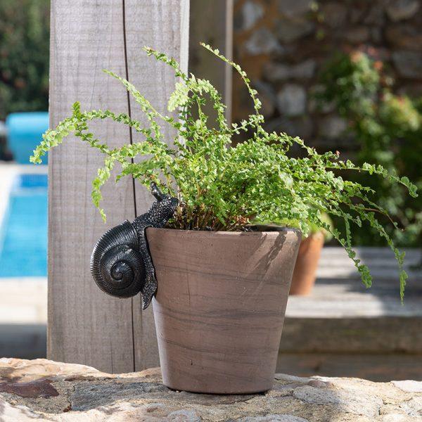Jardinopia-Pot-Buddy-SNAIL---BROWN-POT-1-