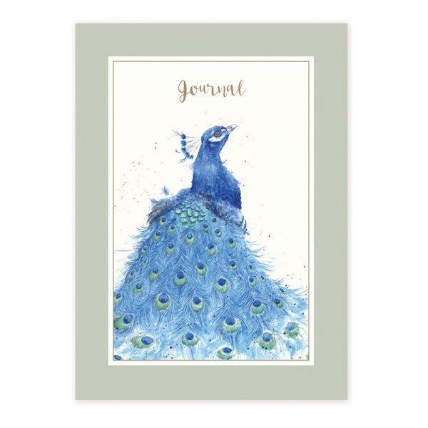 Wrendale Designs Journal-peacock