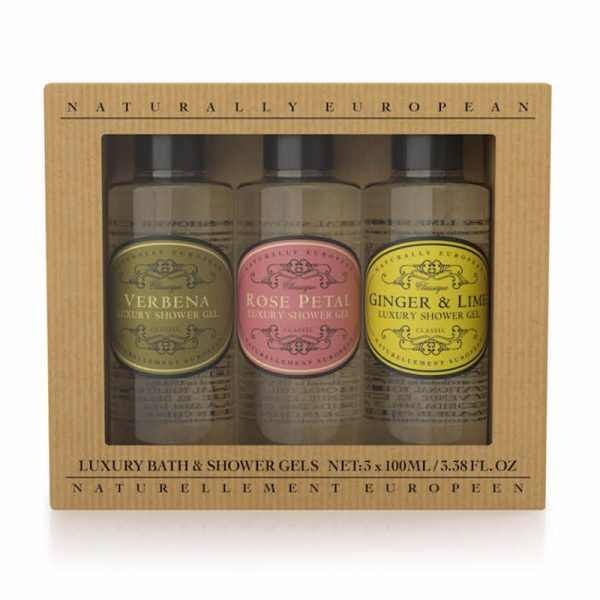 Naturally-European-Mini-Shower-Gel-Collection