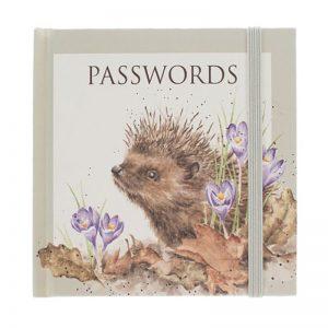 Hedgehog Password Book