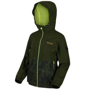 regatta green waterproof jacket
