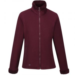 Regatta-Brandall-Womens-Fleece-Dark-Burgundy