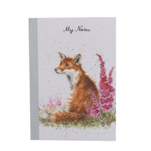 Wrendale-Notebook-A5-fox