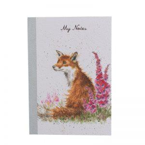 Wrendale-Notebook-A5-fox
