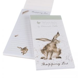 Wrendale-Shopping-List-Hare