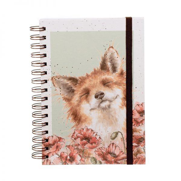 Wrendale-Sprial-Bound-Fox-Notebook-HB013