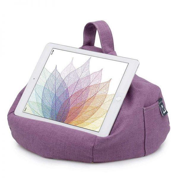 ibeani-ipad-tablet-beanbag-stand-purple-tablet