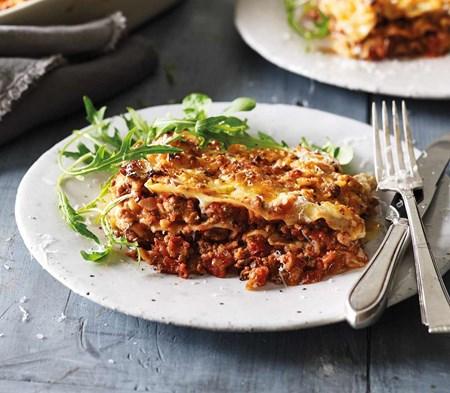 lasagne al forno plated
