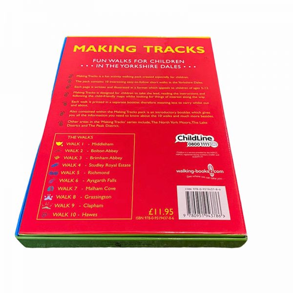 Childrens walking book Making Tracks