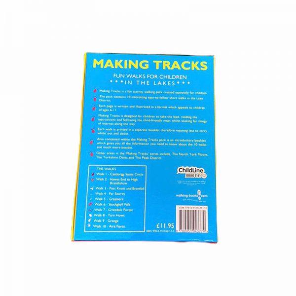 Making Tracks Book for children