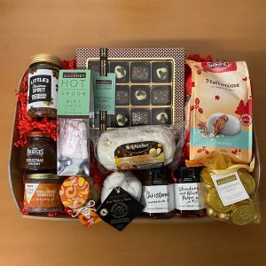 Mistletoe christmas gift hamper