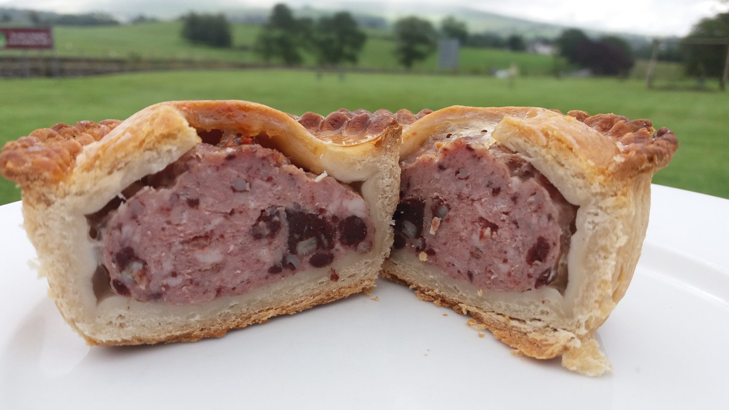 pork pies with black pudding