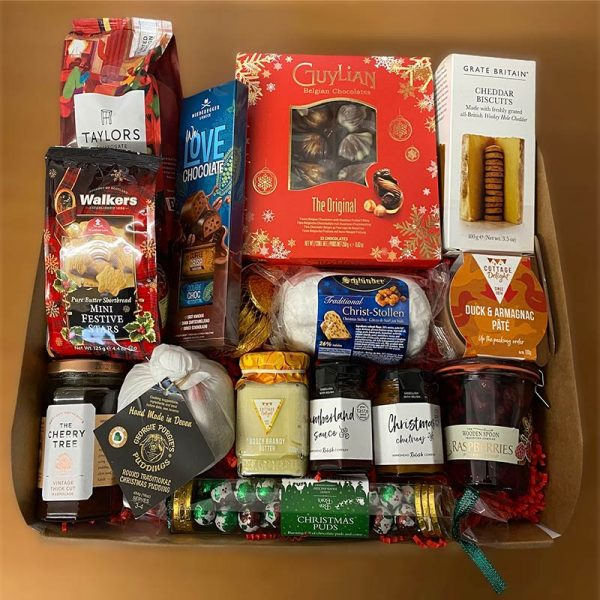 Nutcracker christmas gift hamper